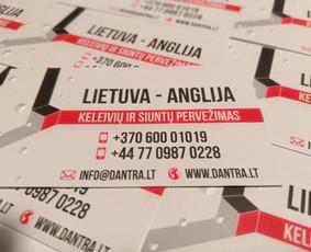 Lietuva - Anglija - Lietuva. Keleivių ir siuntų pervezimas