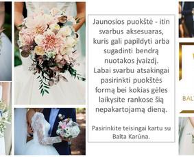 Balta Karūna - vestuvių floristika,dekoravimas,koordinavimas / Balta Karūna / Darbų pavyzdys ID 675225