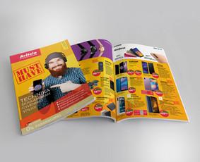 Vieno puslapio maketavimas nuo 40 €. (priklauso nuo elementų gausos) Viršelio ir bendro leidinio dizaino kūrimas 70 €