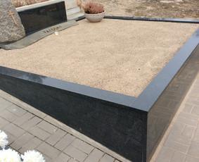 Kapų tvarkymas, granito plokštės, Paminklai, antkapiai / Paulius Latvys / Darbų pavyzdys ID 675527