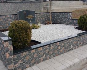 Kapų tvarkymas, granito plokštės, Paminklai, antkapiai / Paulius Latvys / Darbų pavyzdys ID 675529