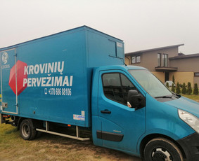 Krovinių pervežimas Alytuje, Lietuvoje, Lenkijoje.