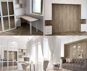 Udizainas - interjero dizainas / Ugnė Stasionė / Darbų pavyzdys ID 684935