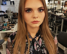 V.D. makeup artist