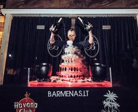 Mobilus Kokteilių Baras ir Barmenai jūsų renginiams!