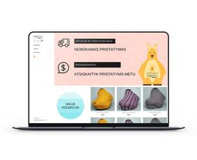 Elektroninių parduotuvių ir internetinių svetainių kūrimas