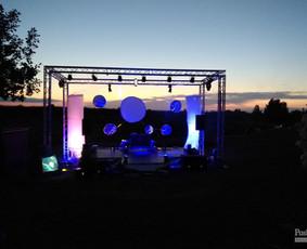 Renginių įgarsinimas, DJ paslaugos, Garso aparatūros nuoma