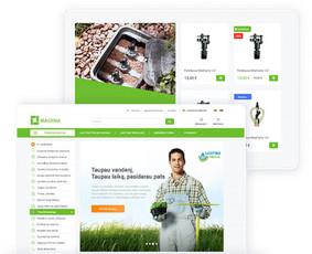 Internetinių svetainių ir el. parduotuvių kūrimas / ideabooz / Darbų pavyzdys ID 691877
