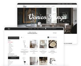 Internetinių svetainių ir el. parduotuvių kūrimas / ideabooz / Darbų pavyzdys ID 691899