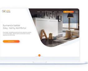 Internetinių svetainių ir el. parduotuvių kūrimas / ideabooz / Darbų pavyzdys ID 691935