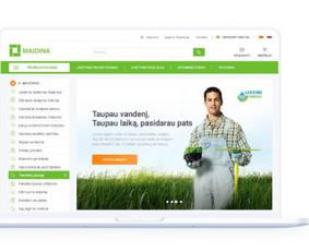 Internetinių svetainių ir el. parduotuvių kūrimas / ideabooz / Darbų pavyzdys ID 691947