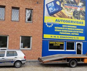 Techninė pagalba kelyje , autoserviso paslaugos KAUNE
