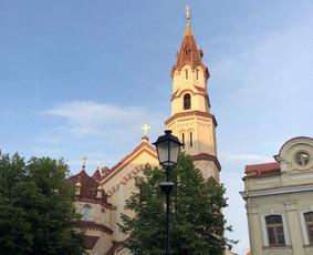 Rusų gidas Vilniuje. Russkij gid po Vilniusu.