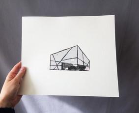 Iliiustracija, atvirukai, grafikos darbai, knygų skirtukai