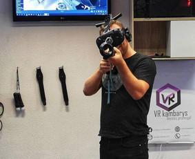 Virtualios realybės kambarys VILNIUJE ir MARIJAMPOLĖJE