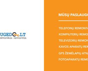 Elektronikos remontas -telefonai, kompiuteriai, televizoriai / UAB Sugedo LT / Darbų pavyzdys ID 700001