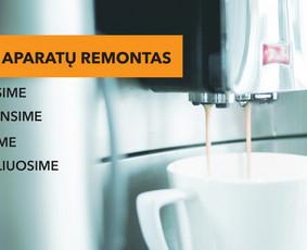 Kavos aparatų remontas. Taisome visų gamintojų kavos aparatus.