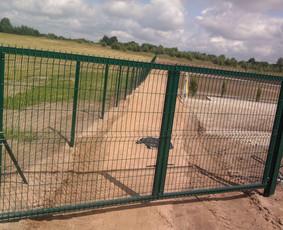 Tvoros, kiemo vartai, montavimas, kalvystės elementai. / UAB Metalo spektras / Darbų pavyzdys ID 700213