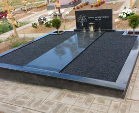 Kapų tvarkymas, granito plokštės, Paminklai, antkapiai / Paulius Latvys / Darbų pavyzdys ID 702543