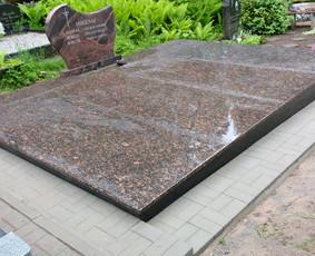 Kapų tvarkymas, granito plokštės, Paminklai, antkapiai / Paulius Latvys / Darbų pavyzdys ID 702557