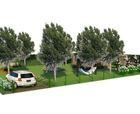 Aplinkos apželdinimo projektavimas / Rolanda / Darbų pavyzdys ID 703659