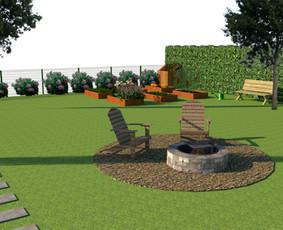 Aplinkos apželdinimo projektavimas / Rolanda / Darbų pavyzdys ID 703669