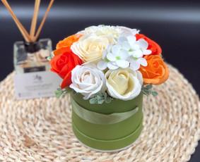 Muilo Gėlių kompozicijos Gėlės pagamintos iš muilo / Muilo Gėlės / Darbų pavyzdys ID 704883