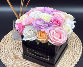 Muilo Gėlių kompozicijos Gėlės pagamintos iš muilo / Muilo Gėlės / Darbų pavyzdys ID 704889