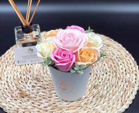 Muilo Gėlių kompozicijos Gėlės pagamintos iš muilo / Muilo Gėlės / Darbų pavyzdys ID 704891