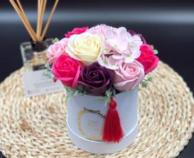 Muilo Gėlių kompozicijos Gėlės pagamintos iš muilo / Muilo Gėlės / Darbų pavyzdys ID 705139
