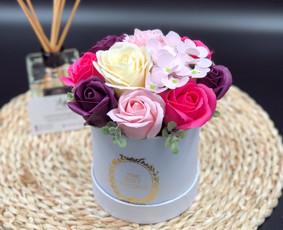 Muilo Gėlių kompozicijos Gėlės pagamintos iš muilo / Muilo Gėlės / Darbų pavyzdys ID 705145