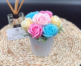 Muilo Gėlių kompozicijos Gėlės pagamintos iš muilo / Muilo Gėlės / Darbų pavyzdys ID 705161