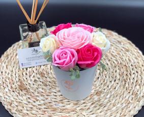 Muilo Gėlių kompozicijos Gėlės pagamintos iš muilo / Muilo Gėlės / Darbų pavyzdys ID 705167