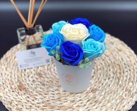 Muilo Gėlių kompozicijos Gėlės pagamintos iš muilo / Muilo Gėlės / Darbų pavyzdys ID 705171