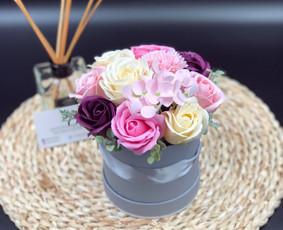 Muilo Gėlių kompozicijos Gėlės pagamintos iš muilo / Muilo Gėlės / Darbų pavyzdys ID 705179