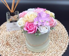 Muilo Gėlių kompozicijos Gėlės pagamintos iš muilo / Muilo Gėlės / Darbų pavyzdys ID 705183