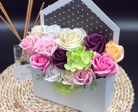 Muilo Gėlių kompozicijos Gėlės pagamintos iš muilo / Muilo Gėlės / Darbų pavyzdys ID 705187