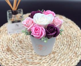 Muilo Gėlių kompozicijos Gėlės pagamintos iš muilo / Muilo Gėlės / Darbų pavyzdys ID 705195