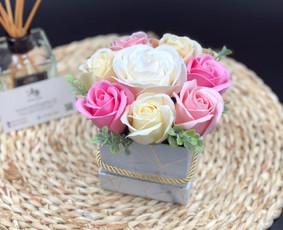 Muilo Gėlių kompozicijos Gėlės pagamintos iš muilo / Muilo Gėlės / Darbų pavyzdys ID 705201