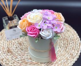 Muilo Gėlių kompozicijos Gėlės pagamintos iš muilo / Muilo Gėlės / Darbų pavyzdys ID 705209