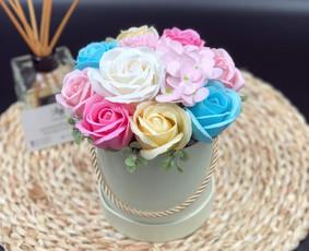 Muilo Gėlių kompozicijos Gėlės pagamintos iš muilo / Muilo Gėlės / Darbų pavyzdys ID 705211