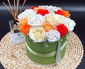 Muilo Gėlių kompozicijos Gėlės pagamintos iš muilo / Muilo Gėlės / Darbų pavyzdys ID 705225