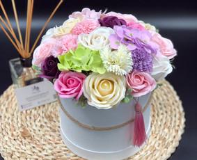 Muilo Gėlių kompozicijos Gėlės pagamintos iš muilo / Muilo Gėlės / Darbų pavyzdys ID 705227