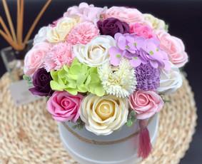 Muilo Gėlių kompozicijos Gėlės pagamintos iš muilo / Muilo Gėlės / Darbų pavyzdys ID 705235