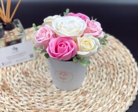 Muilo Gėlių kompozicijos Gėlės pagamintos iš muilo / Muilo Gėlės / Darbų pavyzdys ID 705237