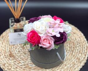 Muilo Gėlių kompozicijos Gėlės pagamintos iš muilo / Muilo Gėlės / Darbų pavyzdys ID 705251