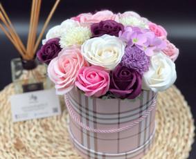 Muilo Gėlių kompozicijos Gėlės pagamintos iš muilo / Muilo Gėlės / Darbų pavyzdys ID 705253