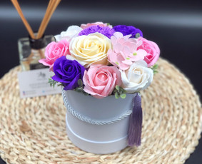 Muilo Gėlių kompozicijos Gėlės pagamintos iš muilo / Muilo Gėlės / Darbų pavyzdys ID 705257