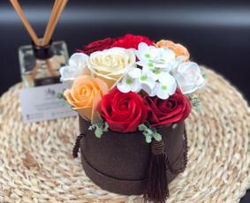 Muilo Gėlių kompozicijos Gėlės pagamintos iš muilo / Muilo Gėlės / Darbų pavyzdys ID 705261