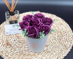Muilo Gėlių kompozicijos Gėlės pagamintos iš muilo / Muilo Gėlės / Darbų pavyzdys ID 705267
